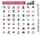 professional business icons    Shutterstock .eps vector #441715759
