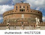 castel sant'angelo in rome italy | Shutterstock . vector #441727228
