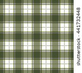 olive green and gray plaid...   Shutterstock .eps vector #441732448