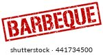 barbeque stamp.stamp.sign... | Shutterstock .eps vector #441734500