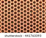 orange hole background  texture