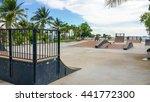 skate park in the daytime.... | Shutterstock . vector #441772300