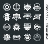set of vector logotypes... | Shutterstock .eps vector #441779050