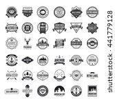 set of vector logotypes
