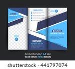 tri fold brochure design ...   Shutterstock .eps vector #441797074