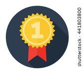 award icon flat. for user... | Shutterstock .eps vector #441803800