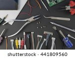electrical and electronic... | Shutterstock . vector #441809560
