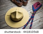 Hat Of Boy Scout And...