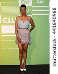 Small photo of NEW YORK, NY - MAY 14: Actress Aisha Tyler attends the 2015 CW Network Upfront Presentation at the London Hotel on May 14, 2015 in New York City.