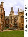 cambridge university - stock photo