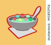 breakfast | Shutterstock .eps vector #441852916