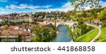 panoramic view of bern in a...   Shutterstock . vector #441868858