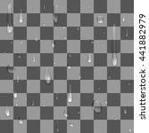 seamless pattern   a raindrops... | Shutterstock .eps vector #441882979
