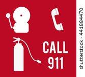 emergency call illustration in...   Shutterstock .eps vector #441884470