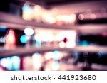 bokeh shopping mall background | Shutterstock . vector #441923680