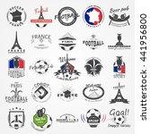 football championship of france ... | Shutterstock .eps vector #441956800