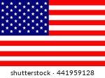 usa flag illustration | Shutterstock . vector #441959128