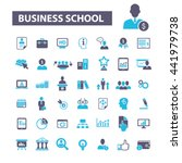 business school icons | Shutterstock .eps vector #441979738