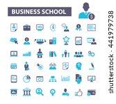 business school icons | Shutterstock .eps vector #441979738
