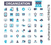 organization icons | Shutterstock .eps vector #441984178