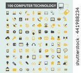 computer technology icons | Shutterstock .eps vector #441988234