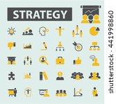 strategy icons | Shutterstock .eps vector #441998860