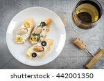tasty various italian...   Shutterstock . vector #442001350