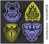 Set Of Military   Army Patches...