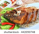 Deep Fried Tilapia Fish