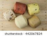 new concept of health   eat... | Shutterstock . vector #442067824
