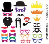 vector isolated set for a... | Shutterstock .eps vector #442088470