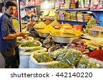 traditional iranian market ...   Shutterstock . vector #442140220