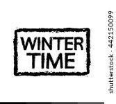 winter time season illustration ... | Shutterstock .eps vector #442150099