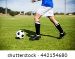 female football player... | Shutterstock . vector #442154680