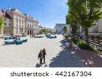 vienna  austria   april 29 ... | Shutterstock . vector #442167304