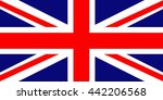 flag of great britain | Shutterstock . vector #442206568
