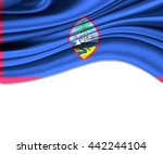3d illustration of guam fabric... | Shutterstock . vector #442244104