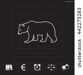 bear symbol   vector... | Shutterstock .eps vector #442275283