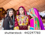 Small photo of PESHAWAR, PAKISTAN - AUG 16: model in Pushtu cultural Dress, The two-day event Cuisine and Culture Festival, was organised by TCKP , on 16 AUG, 2015 Peshawar Garrison Service club.