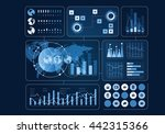 human user display . mixed media | Shutterstock . vector #442315366