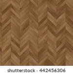 chevron natural parquet... | Shutterstock . vector #442456306