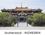 hue  vietnam   jun 16  2016 ... | Shutterstock . vector #442483804