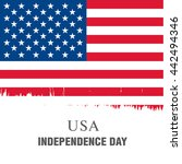 independence day of the united... | Shutterstock .eps vector #442494346
