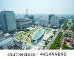 travel concept   panoramic... | Shutterstock . vector #442499890
