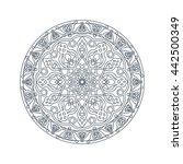 unusual ornament   Shutterstock .eps vector #442500349