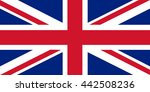 union jack   the united kingdom ... | Shutterstock . vector #442508236