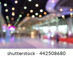 abstract blur people in... | Shutterstock . vector #442508680