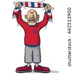 england soccer supporter | Shutterstock .eps vector #442513900