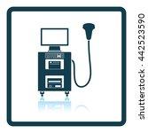 ultrasound diagnostic machine... | Shutterstock .eps vector #442523590