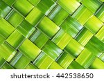 zigzag interlocking of leaf ... | Shutterstock . vector #442538650